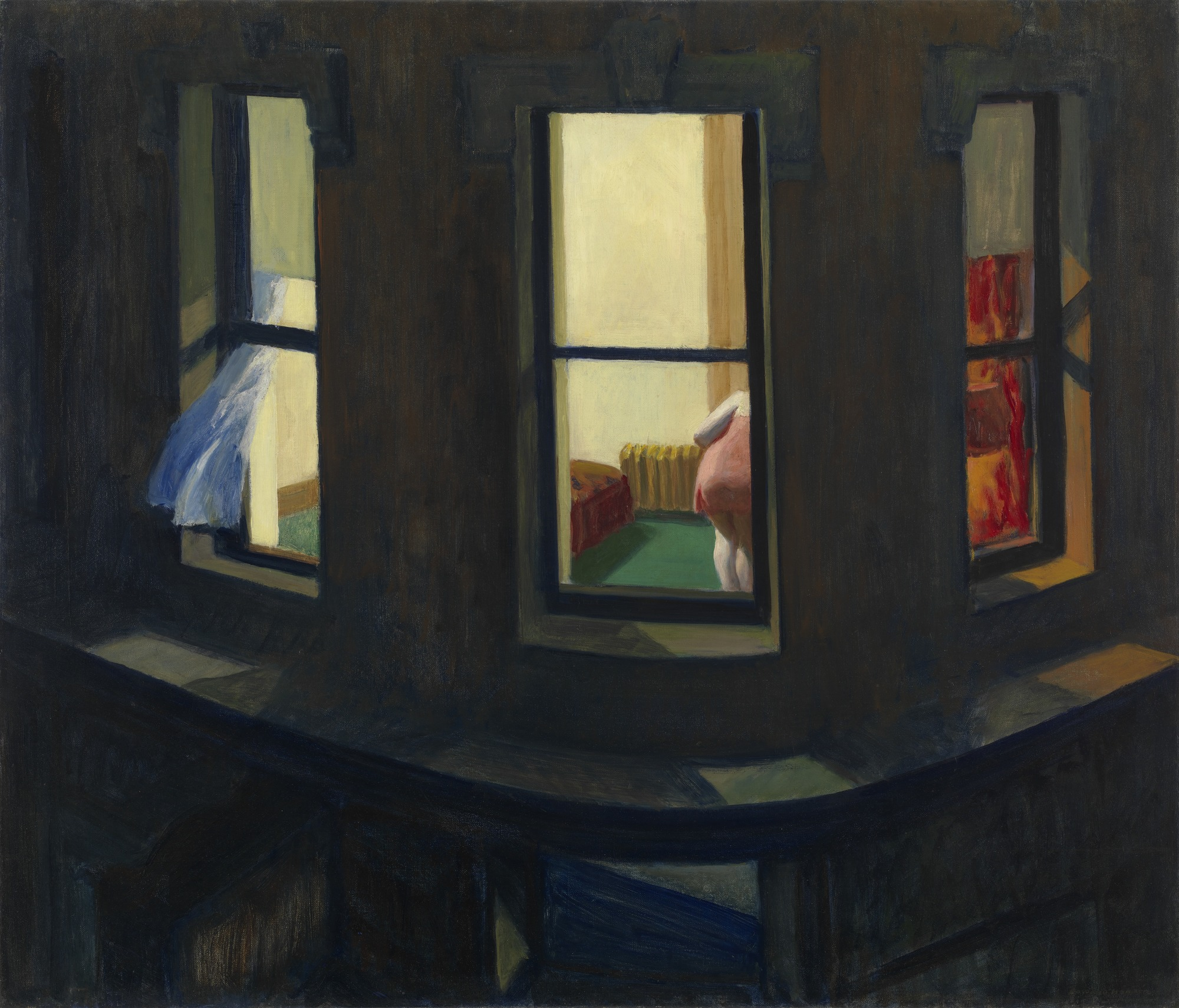 Edward Hopper, Night Windows, 1928